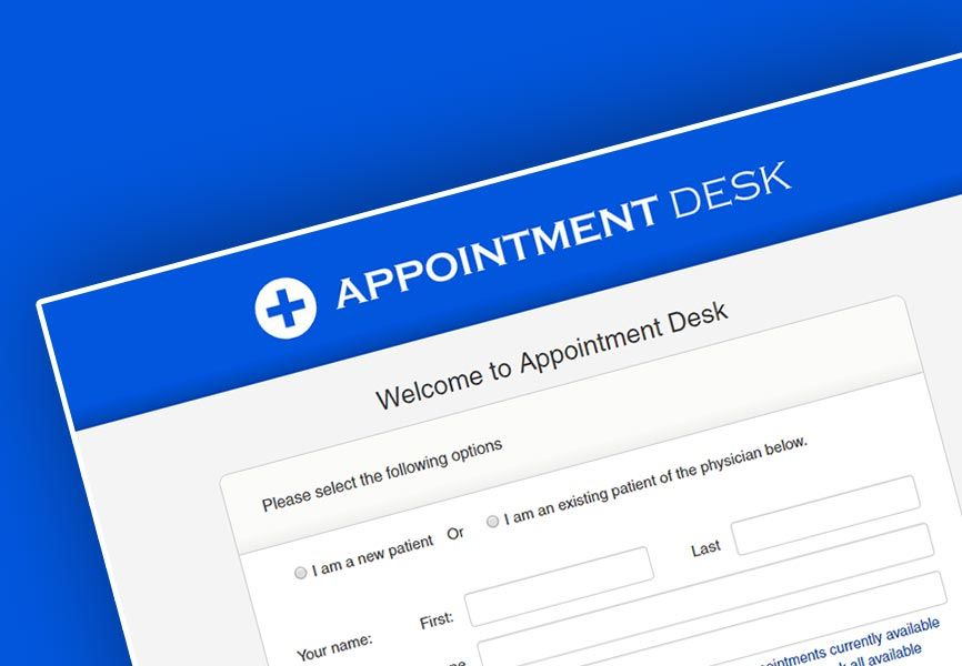 Appointment Desk